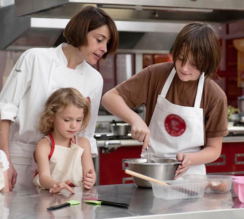 Cours de cuisine parent-enfant